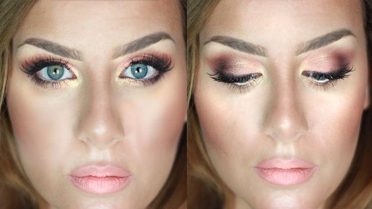 Make up CERIMONIA Tutorial Trucco Rosa Pesca e Oro | None Fashion and Be...