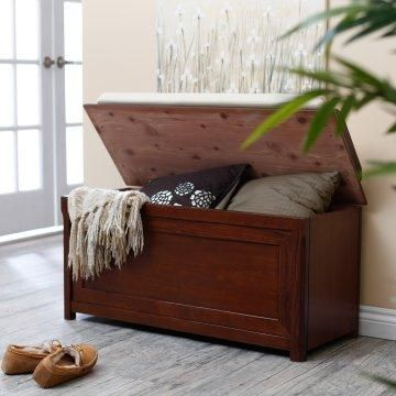 Cedar Chest Mission Bench with Cushion. I need something ...