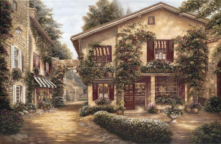 """""""Boulangerie"""" Artist, Betsy Brown"""