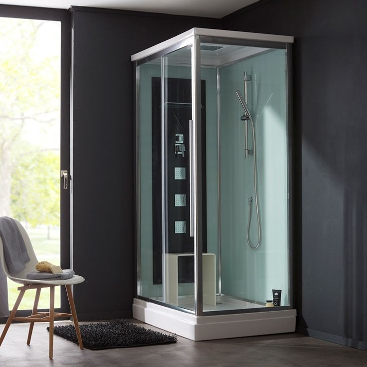 Une cabine de douche intégrale pour une #salledebain moderne. #planetebain