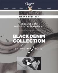 CHEVIGNON - Black Denim Collection