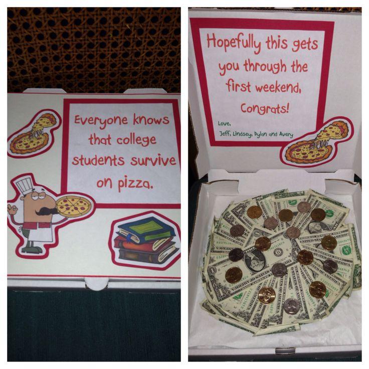 Graduation Present made with a pizza box | Stuff I Made ...