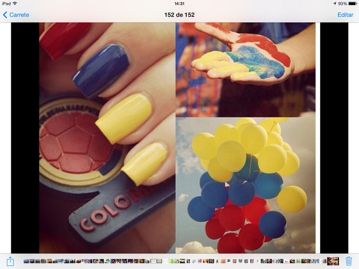 Gonna do this for Colombian Independence Day!