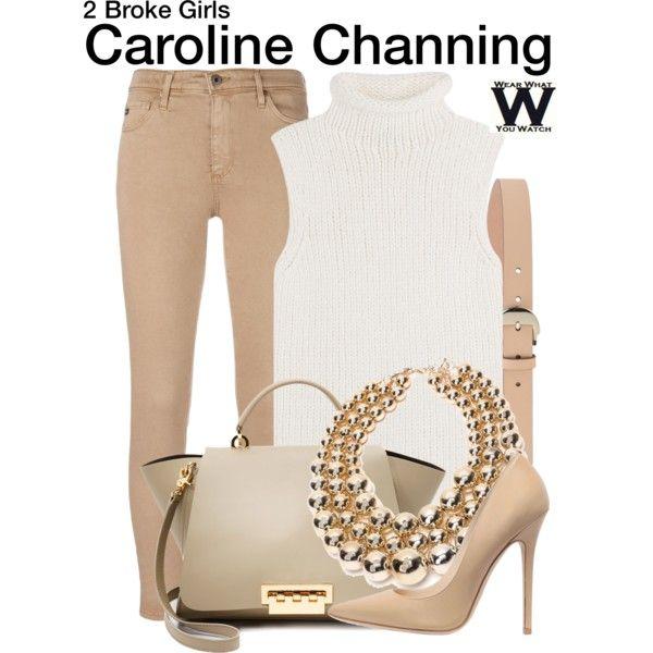 Inspired by Beth Behrs as Caroline Channing on 2 Broke Girls.