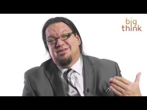Penn Jillette says that despite Donald Trumps apparent craziness, the real estate moguls move into entertainment is a good role for him in our culture.  Transcript - Donald Trump is not batshit crazy. Donald Trump also does not wear a toupee. I have been this close to Donald Trumps head, and that is real hair growing out of his head. I actual...