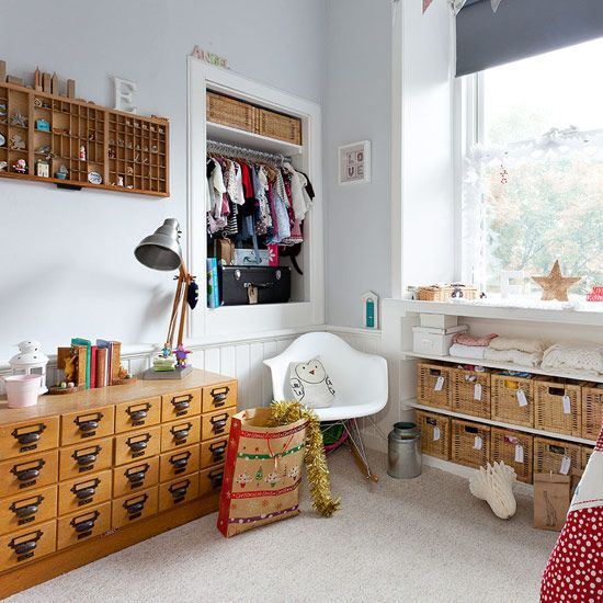 Children's bedroom storage | Victorian flat in Edinburgh | House Tour | PHOTO GALLERY | Style at Home | Housetohome.co.uk