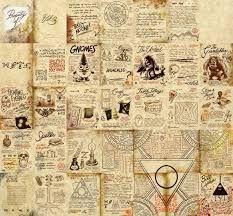 Resultado de imagen para todas las paginas del diario de gravity falls