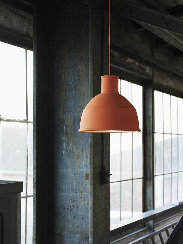This soft, silicon rubber shade creates a unique and playful take on the classic industry lamp design
