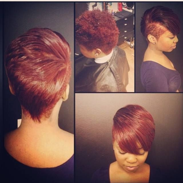 Natural Flat Iron Short Do