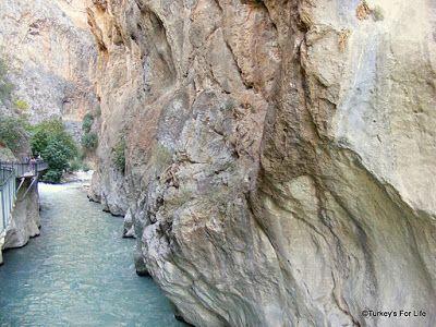 Saklikent Gorge near #Fethiye, #Turkey