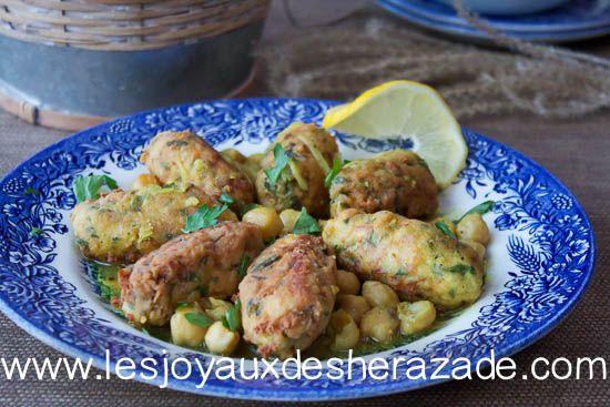 Rkham Cuisine : El mhawet plat algérien facile recipe cuisine