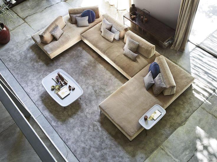 Sofá secional de tecido SANDERS AIR by Ditre Italia design Stefano Spessotto, Lorella Agnoletto
