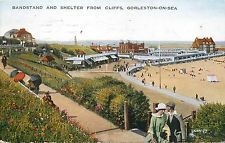 Bandstand and Shelter From Cliffs about 1930
