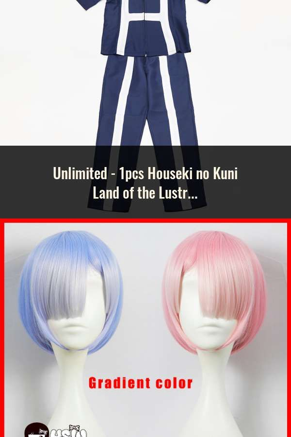 Houseki no Kuni Phosphophyllite Cosplay Hair Wig Land of the Lustrous Gradient