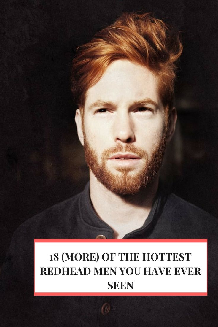 18 (More) of the Hottest Redhead Men You Have Ever Seen