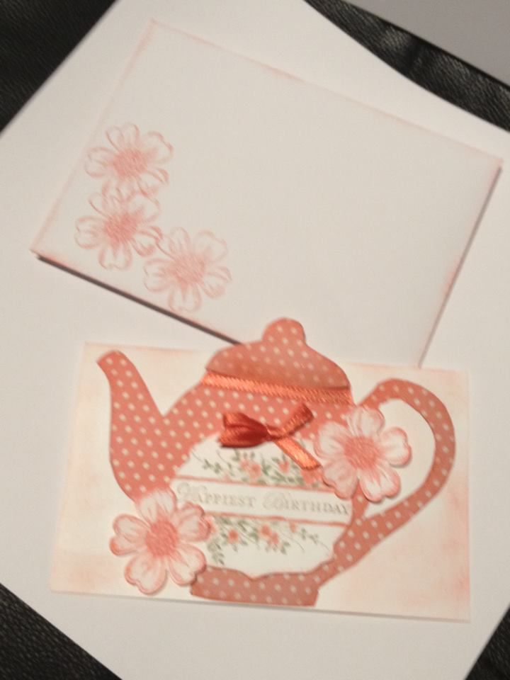 Books On Card Making Part - 20: Teapot Card · Recipe BooksTeacupsCard MakingCups