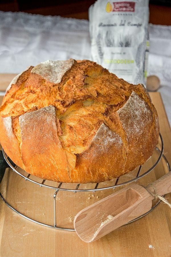 Pane con fiocchi di patate