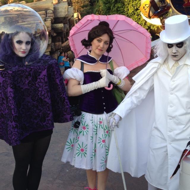 Disneyland's Haunted Mansion costumes!