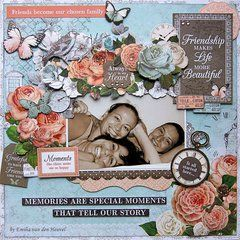 The Ooh La La Collection by Kaisercraft makes capturing moments with friends easy and beautiful! Available now at Scrapbook.com.