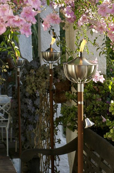 Roma Oillamps lamp design by Aristo perfect for your patio