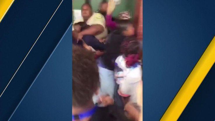 Massive melee at Cajon High School in San Bernardino under investigation | abc7.com