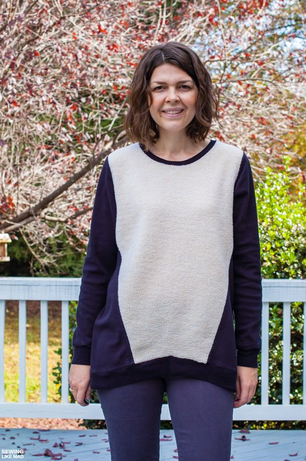 Sewing Like Mad: Halifax Hoodie by Hey June Patterns.