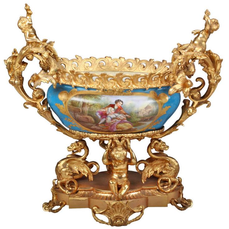 Sevres France  city images : french sevres porcelain gilt bronze mounted centerpiece french sevres ...