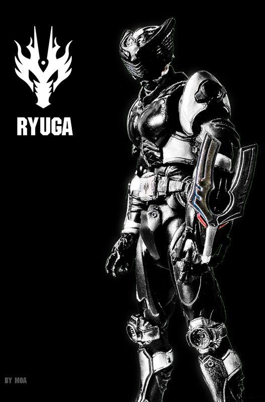 KAMEN RIDER RYUGA by MoA07.deviantart.com   Digital art ...