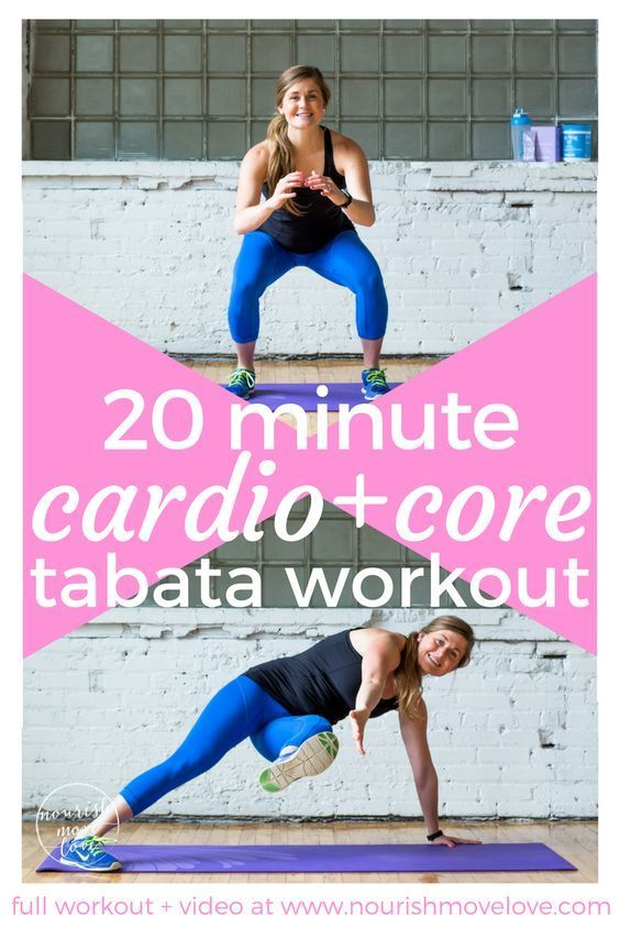 An effective 20 minute bodyweight Tabata workout mixes HIIT cardio intervals with strength and core training. It's all bodyweight, making it to the perfect traveling workout. Interval training with short recovery periods, circuits include squat jumps, air interval fast diet