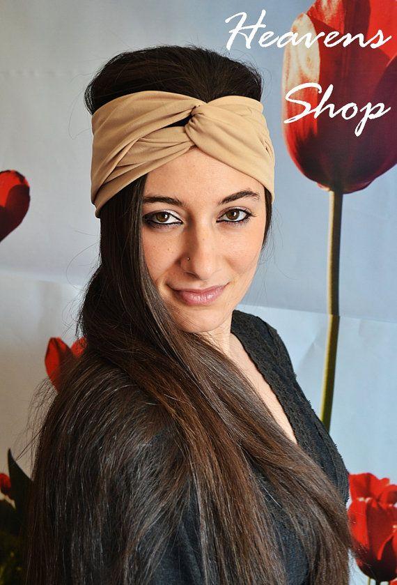 Turban Headband Women's Jersey Turband Twist Hair by HeavensShop, €11.00