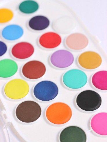 Watercolour Deluxe Palette, 22 colours