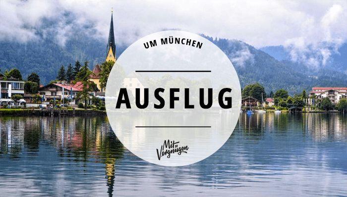 Kloster Andechs, Schliersee, Murnau: Wir haben 11 schöne Tagesausflüge zum essen, baden und wandern in der Münchner Umgebung gesammelt.
