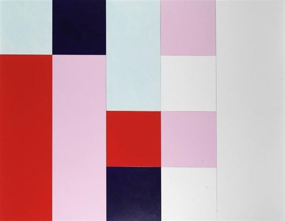 24 Colors (for Blinky) - Imi Knoebel - WikiArt.org
