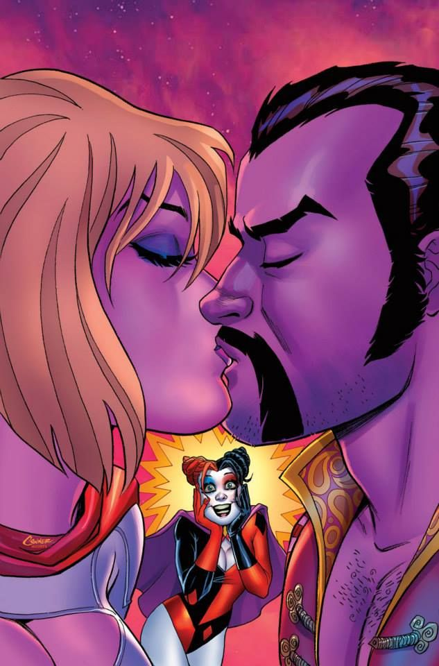 Harley Quinn and Power Girl #4 by Amanda Conner