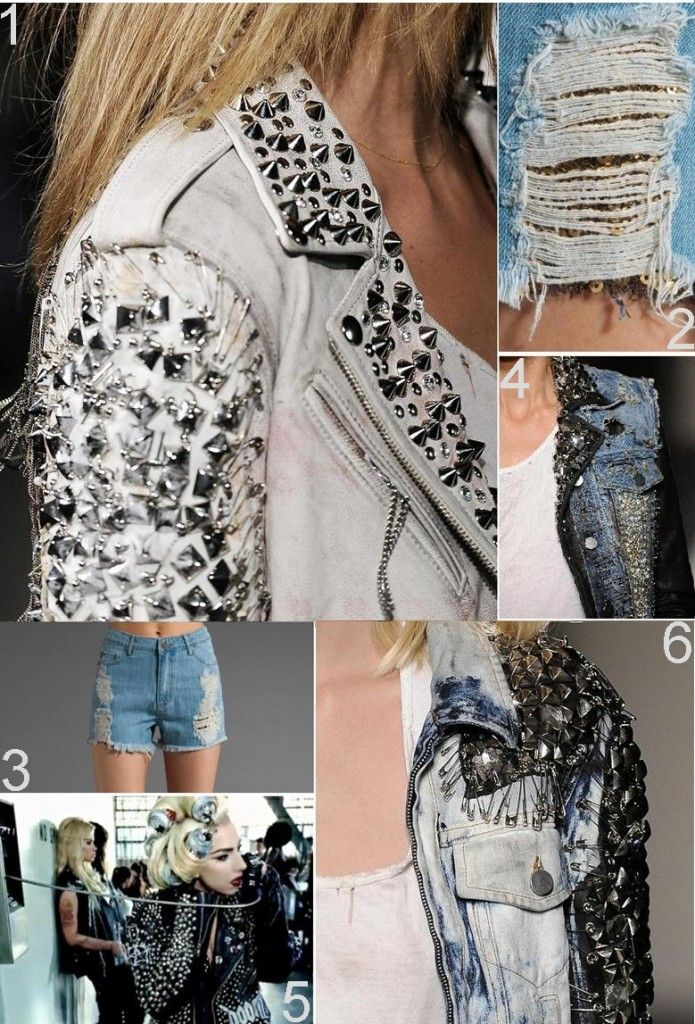 DIY Fierce Denim Jackets