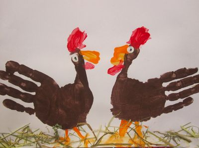 turkeys: Hand Turkey, Thanksgiving Crafts, Thanksgiving Turkey, Handprint Turkey