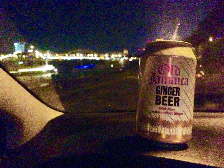 Old Jamaica Ginger Beer ( 0,00% Alkohol) am Rhein