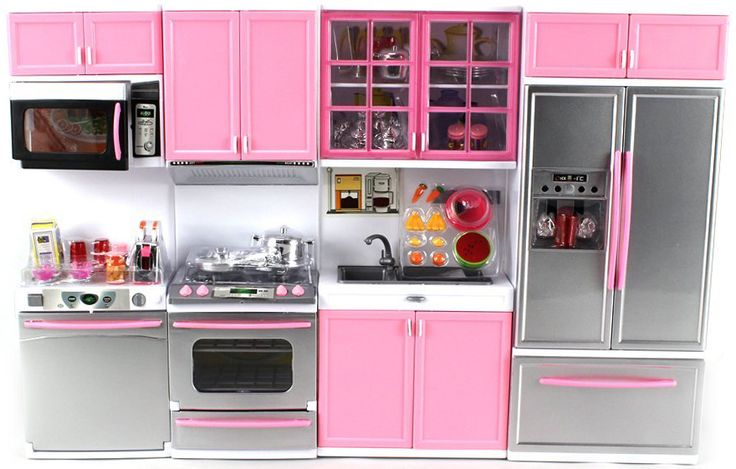 Deluxe Modern Kitchen Battery Operated Toy Kitchen