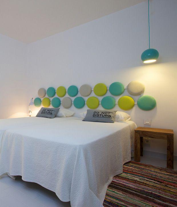 LAMPARA TOPAN -  - En abril se acaba de inaugurar el HOTEL SANTOS Ibiza Coast Suites.   UPdesign ha tenido el placer de suministrar algunos de sus productos que os queremos enseñar.