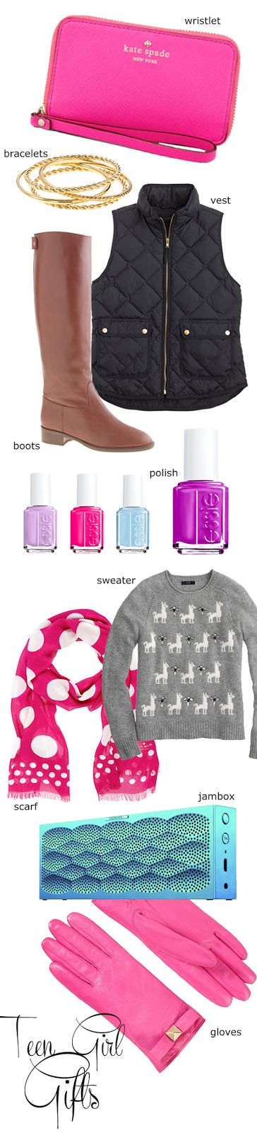 The Pink Pagoda: Guest Post || TEEN GIRL GIFTS