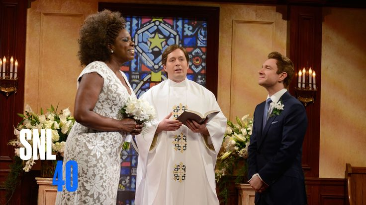 Wedding Objections - Saturday Night Live. with Leslie Jones & Martin Freeman.