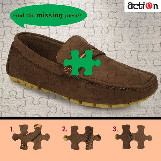 Crack the jigsaw! Tell us which piece will fit in? #Action