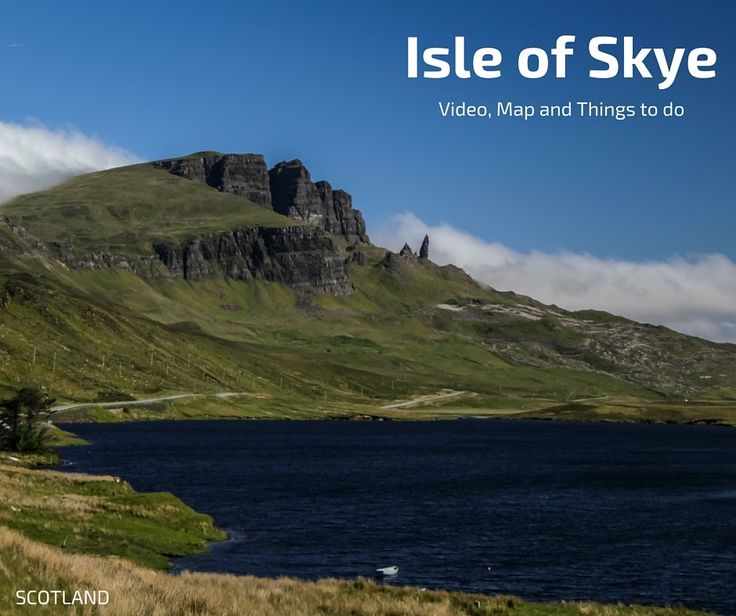 Discover 20 amazing things to do in Skye Island Scotland: Storr, Quiraing, Fairy pools... plan your trip to the isle of Skye with video, map and photos