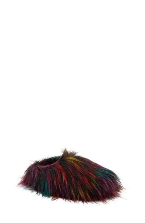 76c4dba0dd1 Steve Madden Fuzzy Faux Fur Slipper (Women)