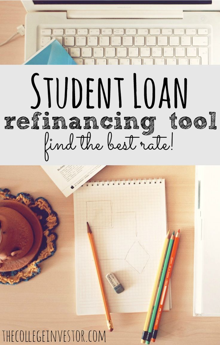 Check out our student loan lender comparison tool to find the best student loan refinancing rate.