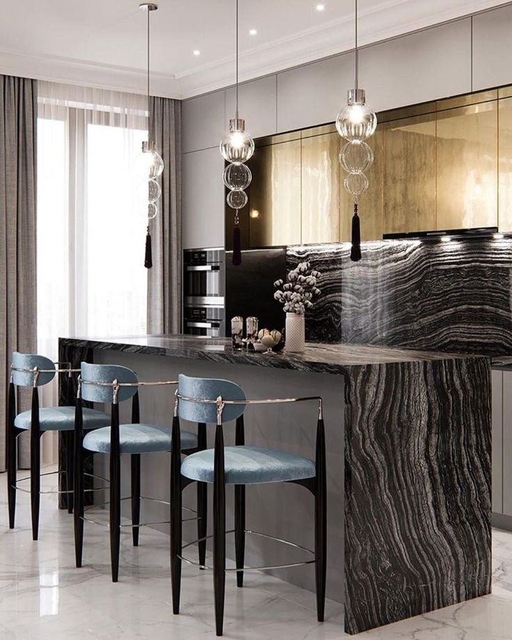 Traditional Style Kitchen Design With A Modern Twist: Gorgeous Traditional Kitchen Design Ideas 04