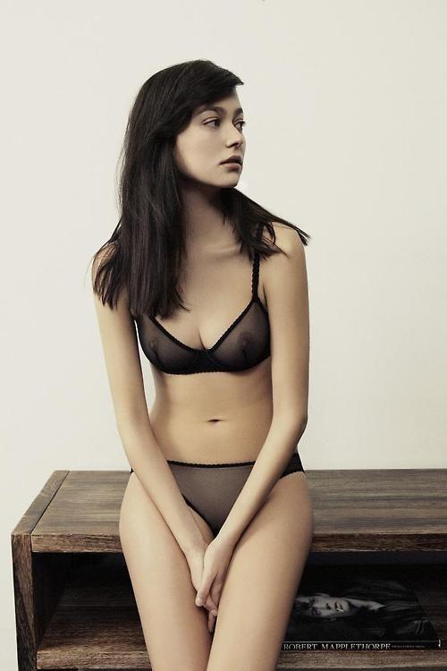 fine sheer lingerie