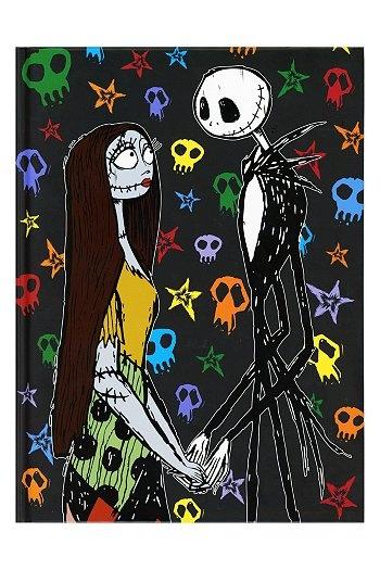The Nightmare Before Christmas Jack And Sally Sketchbook