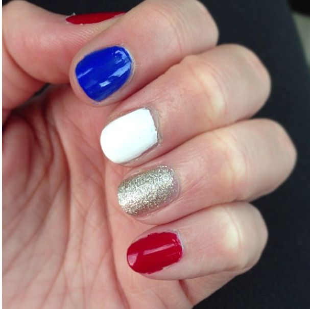 Forth of July Nails--LOVE-via eleventhgorgeous on youtube
