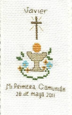 Resultado de imagen para patrones de punto de cruz motivos religiosos